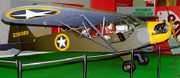 L-4A painted and marked to represent an aircraft that flew in support of the Allied invasion of North Africa in November 1942